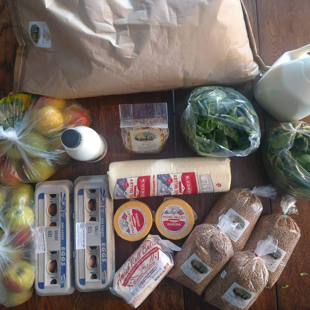 Store purchases, and herdshare milk.