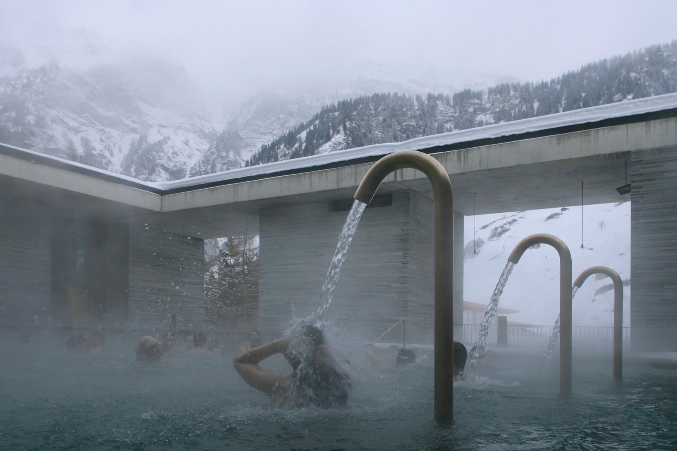Image: Therme Vals Spa by Peter Zumthor