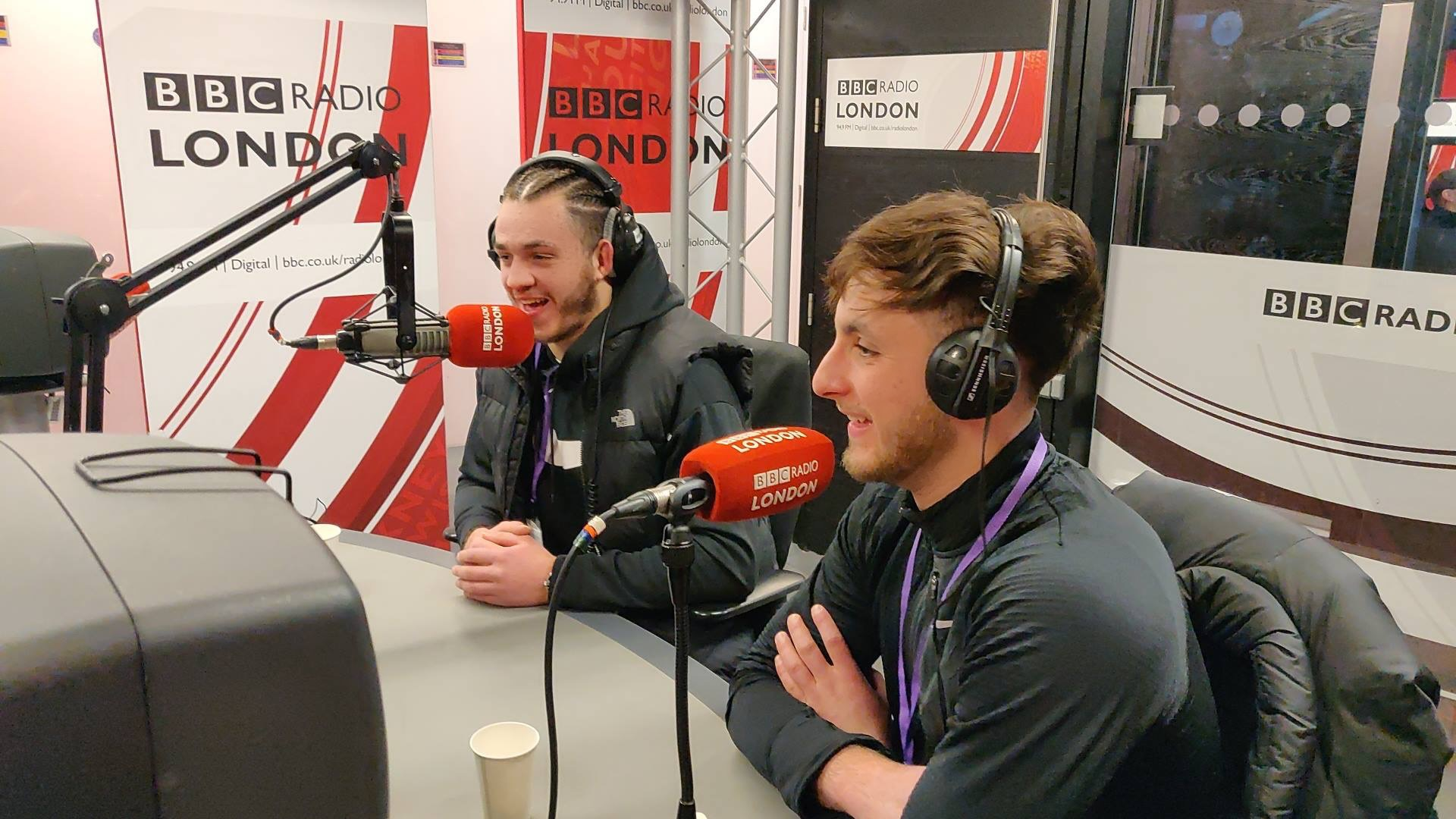 THE BOYS ON THE RADIO -
