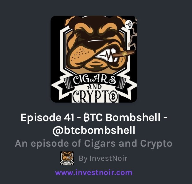 Cigars and Crypto-Episode 41 -