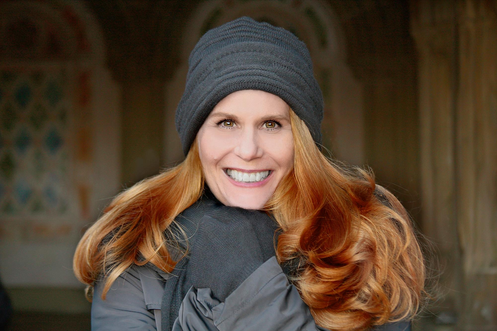 Julia Wade - in Black Cap
