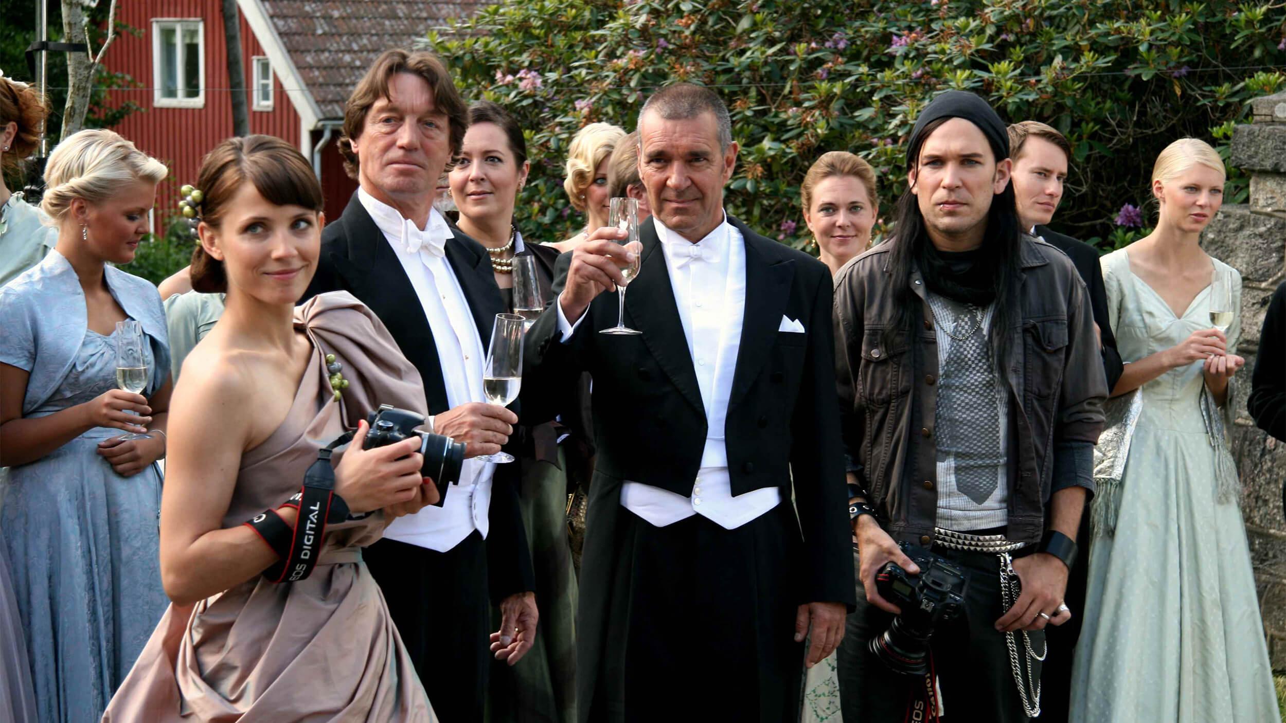 Bröllopsfotografen