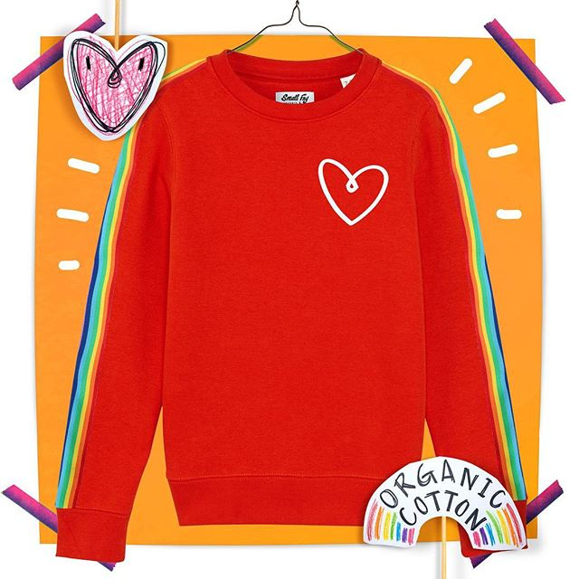 The LOVE sweater in red ❤️🧡❤️🧡