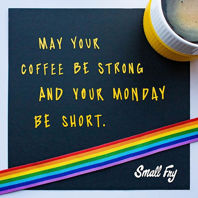 How is it Monday again?! 🌈