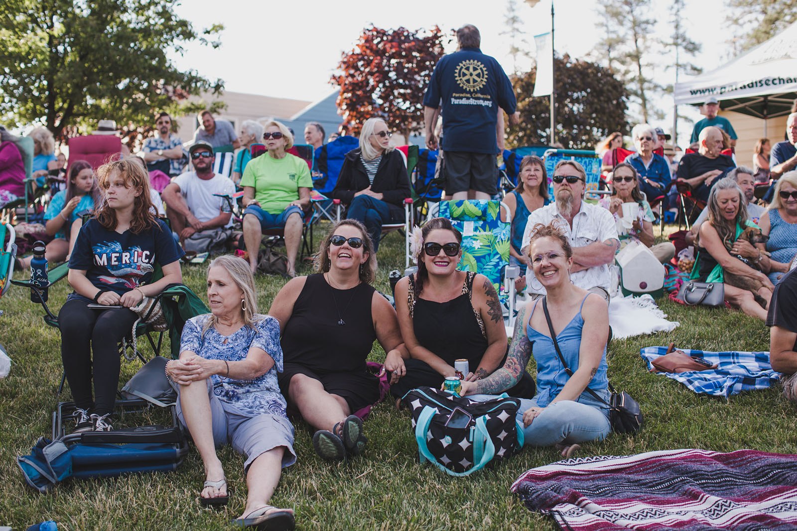 Party in the Park Music & Marketplace Wednesdays, June 12 - July 31st -