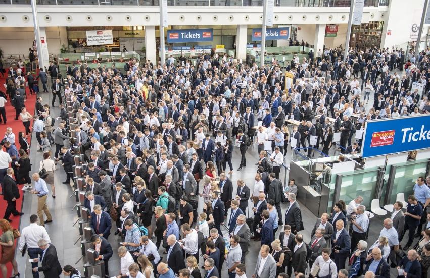 64.000 Besucher aus 125 Ländern reisten zur  transport logistic an (Bild: Messe München)