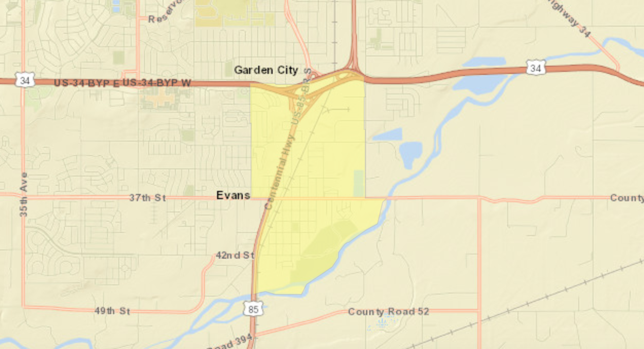 Garden City Colorado Opportunity Zones Map.png
