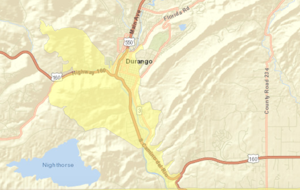 Durango Colorado Opportunity Zone Map.png