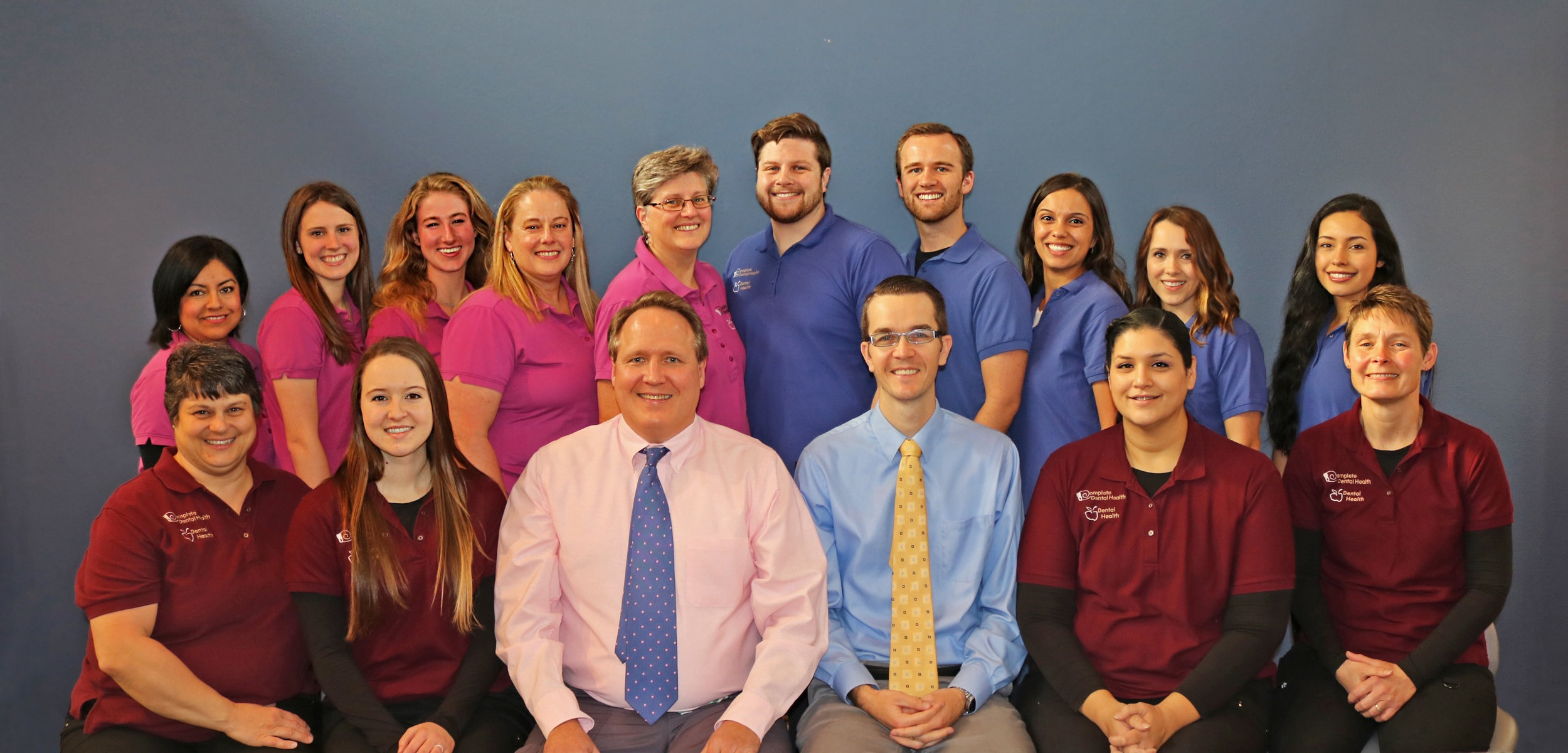 Complete Dental Health Team Photo