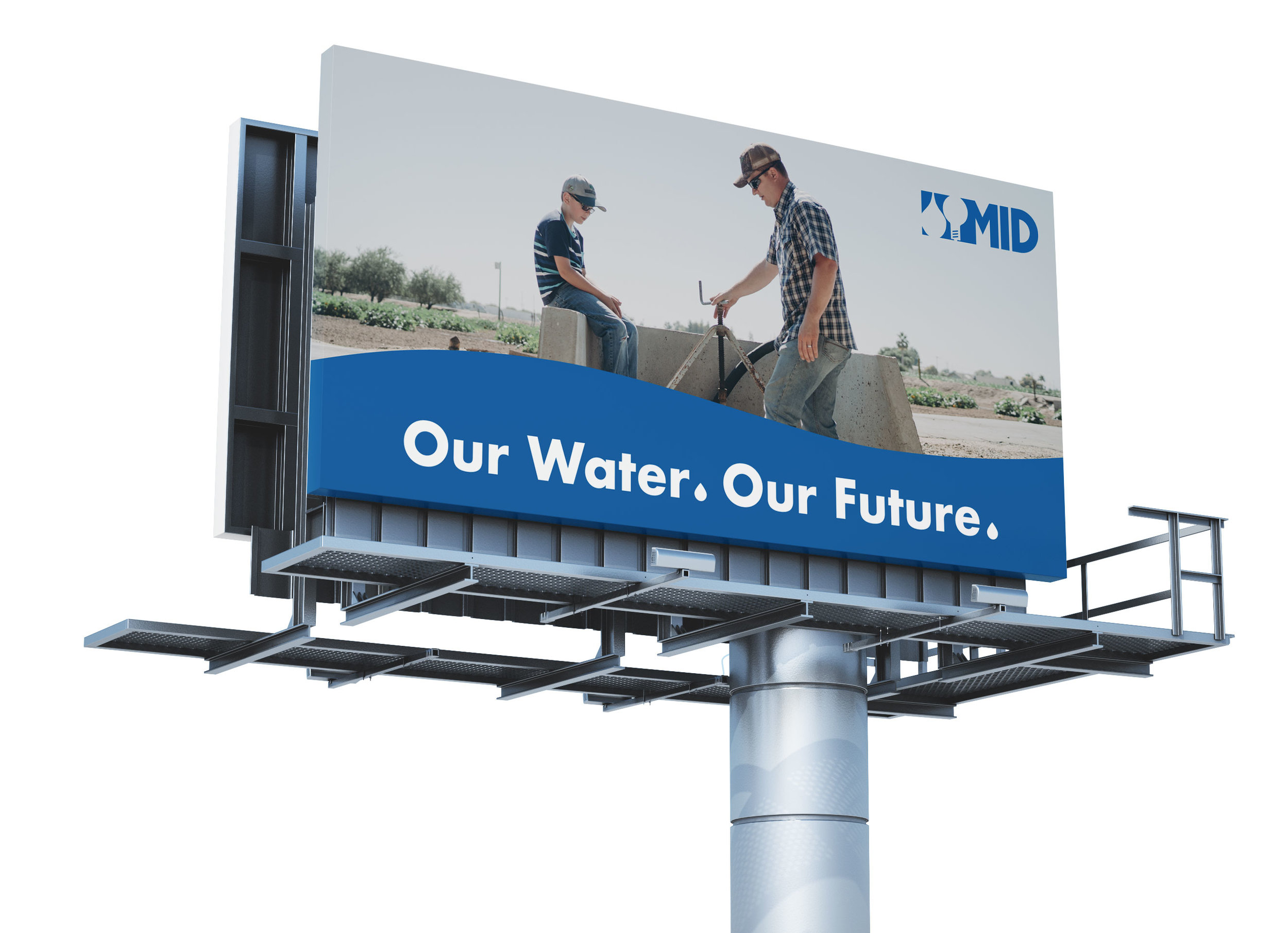 Billboard for  Until the Last Drop™  campaign.