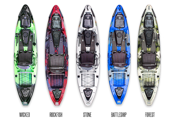 Jackson Kayak Colors