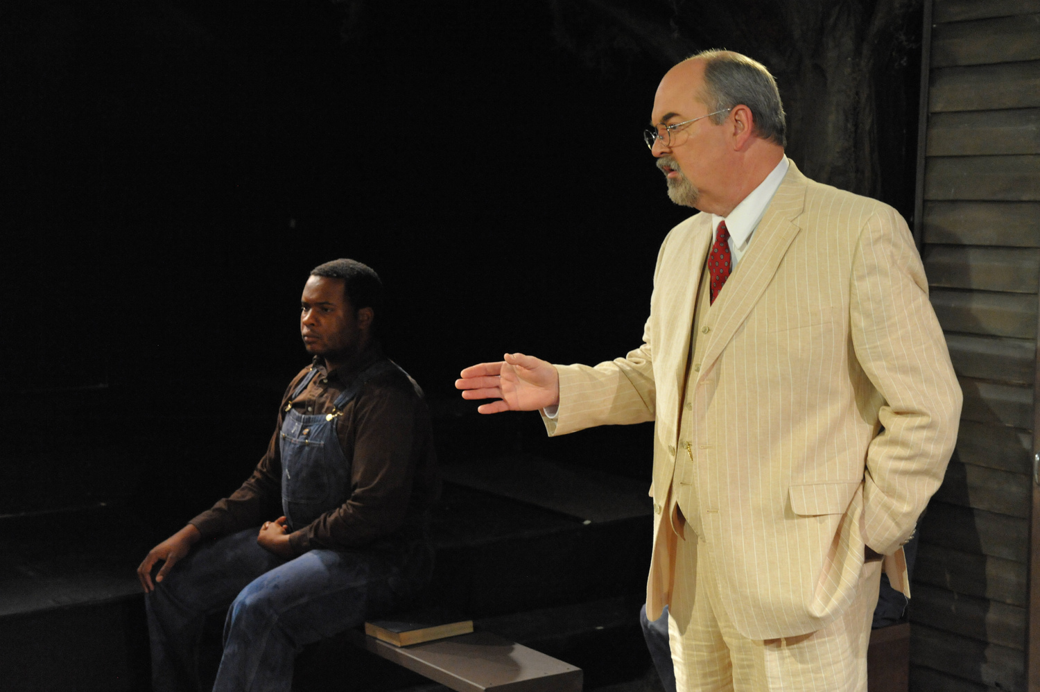 To Kill a Mockingbird - All honor and praise goes to director Brandon McCoy for making it flow through Compass Rose's limited space. And the first-rate director has hired first-rate performers; there is not a bad performance in the production. - DC Theatre Scene