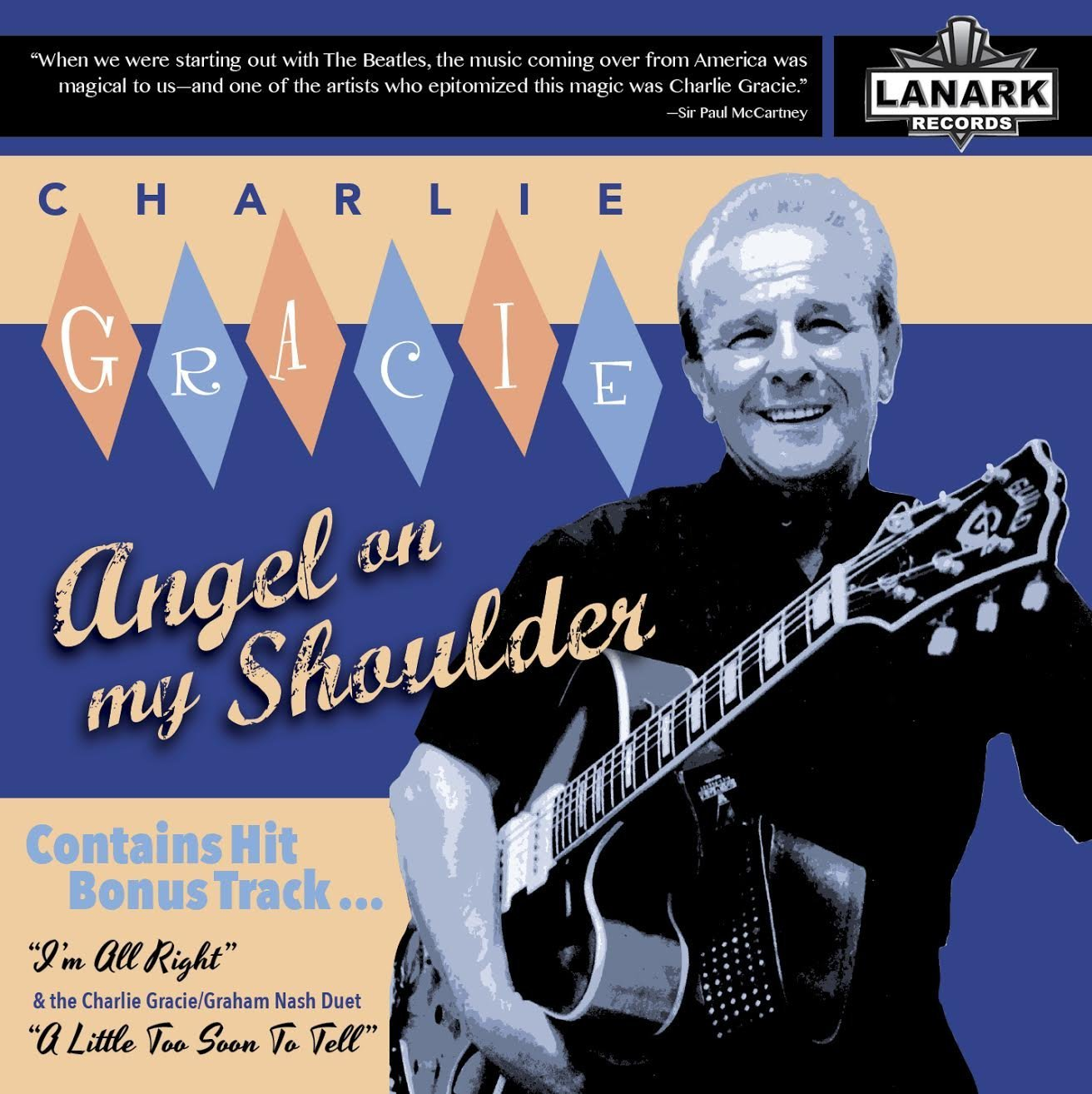 Charlie Gracie Angel On My Shoulder cover.jpg