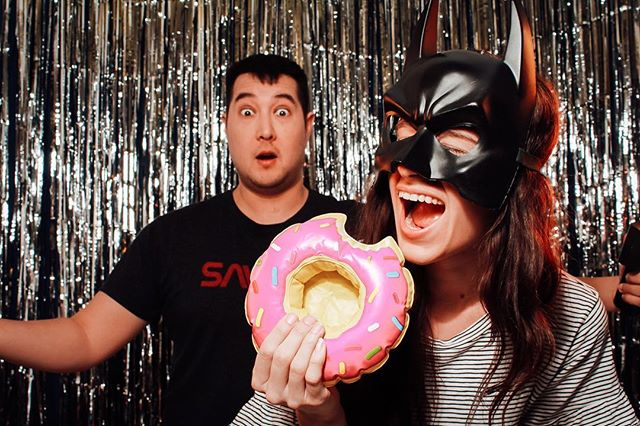 What? You didn't know Batman's favorite donut is pink with sprinkles? . . . . . . . #faroutphotobooth #faroutphotobooths #memphis #downtownmemphis #memphiswedding #chose901 #bluffcity #ilovememphis #memphisphotographer #photobooth #memphisphotobooth #memphisphotoboothrental #nashvillephotobooth #chattanoogaphotobooth #memphismade #loflinyard #memphisweddingphotographer #memphisweddingvenue
