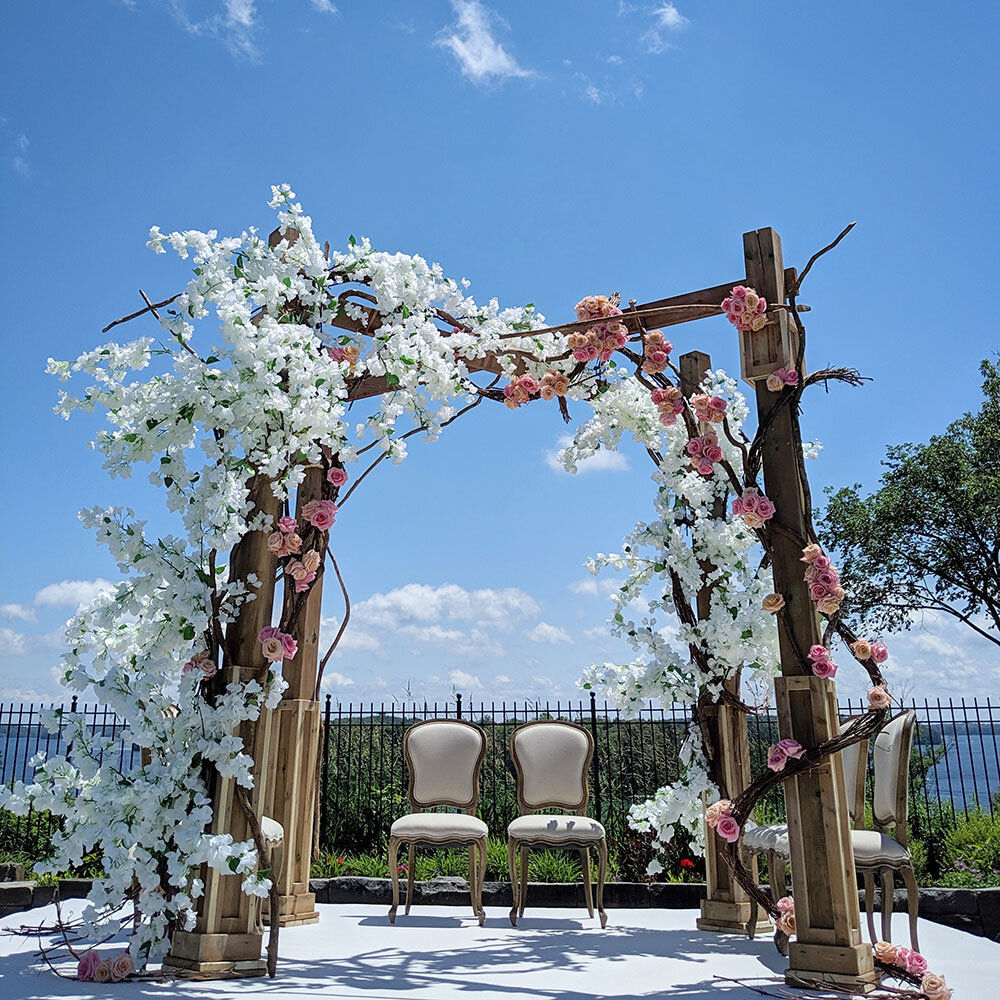 Paras-Events-Rustic-Garden-Bouganvillea-Wedding-Mandap-JW-Marriott-Muskoka-Lake-Joseph-3.jpg