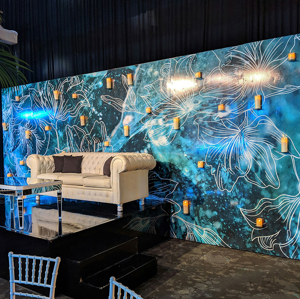 How do all of the decor products and flowers arrive for my destination event? - To save our clients from high shipping fees, we source all product at your destination. We collaborate with local event teams to produce your event. This avoids costly shipping fees, duties, and taxes. This also avoids high delivery and production fees – and saves our clients on additional travel and accommodation fees.