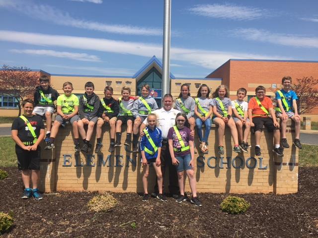 Clymore Elementary School Safety Patrol