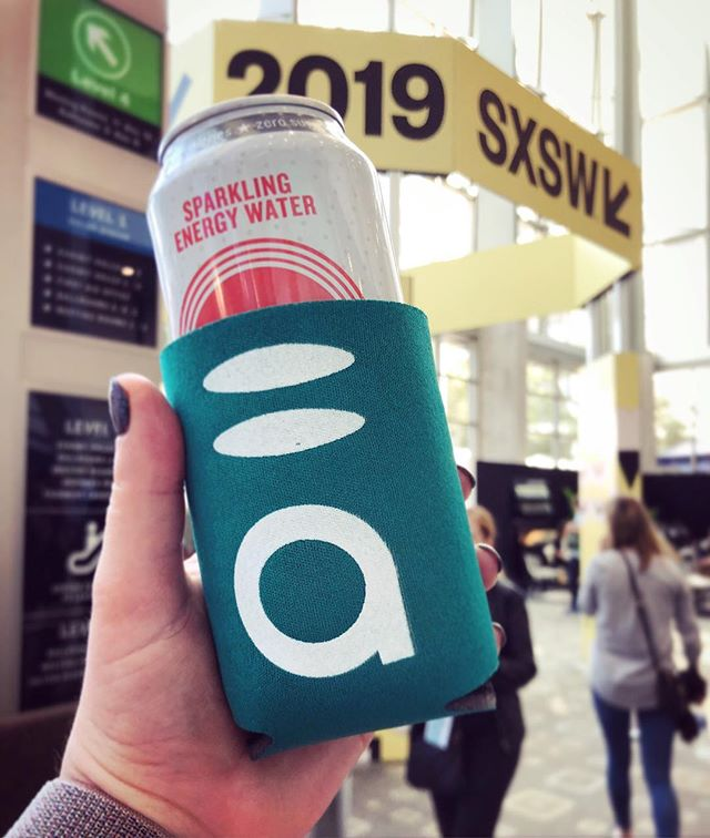 Representing client, @abacabanc, at #SXSW! Learning a lot and staying caffeinated with @hiballenergy. Looking forward to #Cannabusiness after #sxswi.