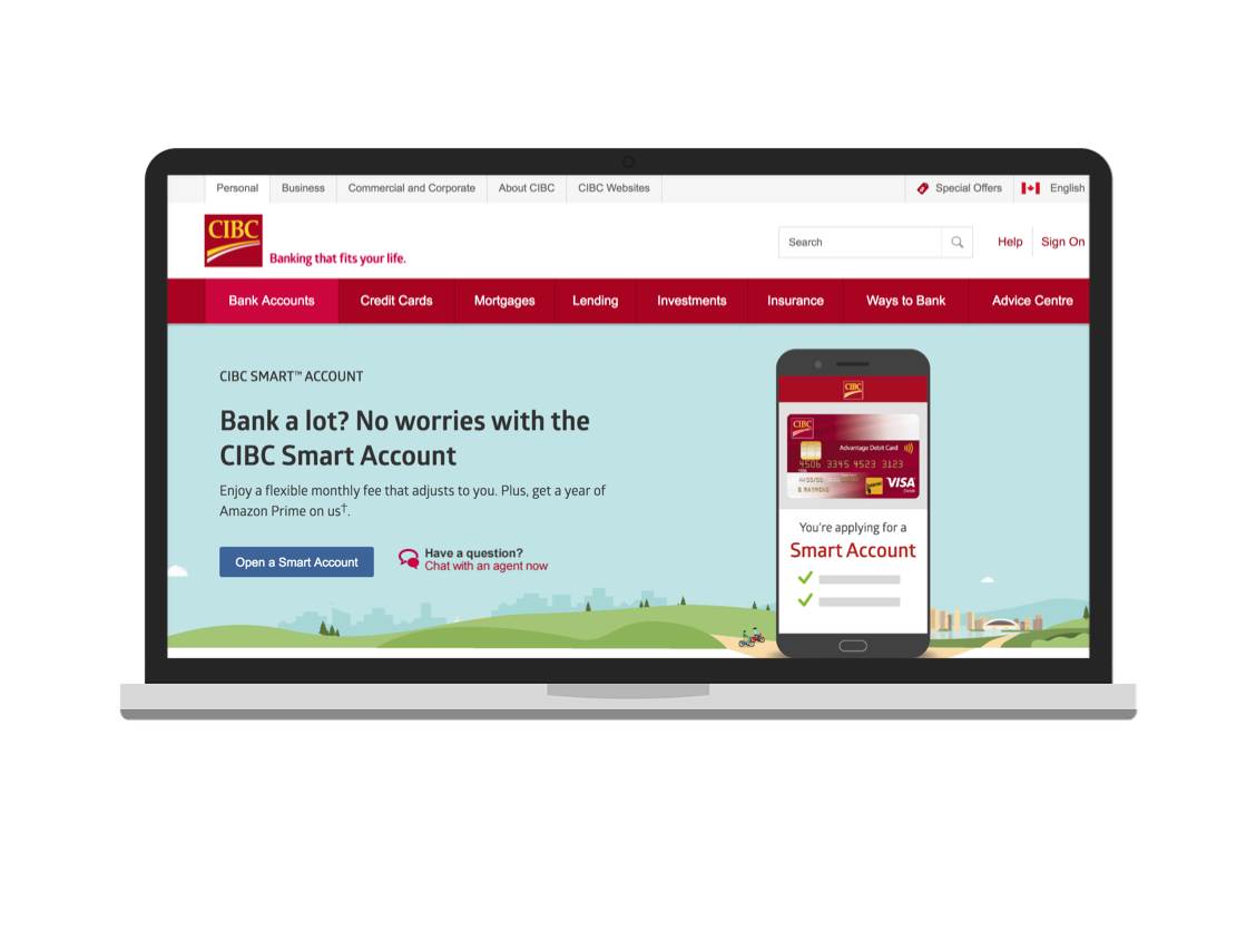 "AFTER - Currently branded as, ""CIBC Smart™ Account"""