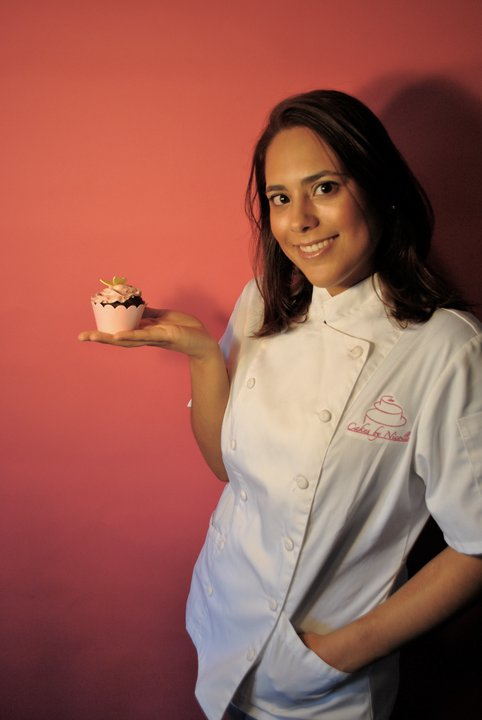 About Nicolle - Thank you for stopping by! My name is Nicolle Lugo and I am chef/owner of Cakes by Nicolle. I have been in business since 2010 creating beautiful and tasty cakes for all occasions.Growing up in my household no one was really into baking so I found myself at an early age diving into cookbooks and anything related to baking. Waking up early on the weekends to catch Julia Child's show instead of cartoons was the norm for me. I was rather obsessed and managed to gather a vast collection of baking recipes in hopes to one day be able to use the oven. Eventually my parents gave me some freedom and I slowly started to follow recipes and learn on my own.My passion for baking truly set in back when I was in high school working at a popular Italian pastry shop in my hometown of Greenwich, CT. Here is where I learned the hard work of the service industry and gained the hands on experience with baking and cake decorating. To any other high schooler this was just another part-time job, not for me. The pastry shop was a special place for me because it helped fuel my desire to keep learning and growing.I took a lot of detours before I made my way back into the kitchen. Along the way I graduated from college with business degree, I gained close to 15 years experience in resteraunt management & operations with 5 of those years stemming from events and catering. I obvsiously loved working in the back of house but I kept putting off the enevitable. In 2009 I made the leap of faith and enrolled at the prestigious Institute of Culinary Education (ICE) here in New York City and graduated the following year with a diploma in Baking & Pastry Arts. During my time at ICE I was very fortunate to learn and be mentored by a few of the best in the industry, specifically Ruth Drennan of Ruth Drennan Cakes. With a lot of encouragement from Ruth and from my supportive family I launched Cakes by Nicolle in May of 2010.As you can see baking and designing cakes is my labor of love. It is a testament to all myhard work, sacrifice and passion that I have for this craft. It is my honor to work with you to design a beautiful sweet creation that will be as unique and as memorable as your special day.Sweet Regards,Nicolle Lugo