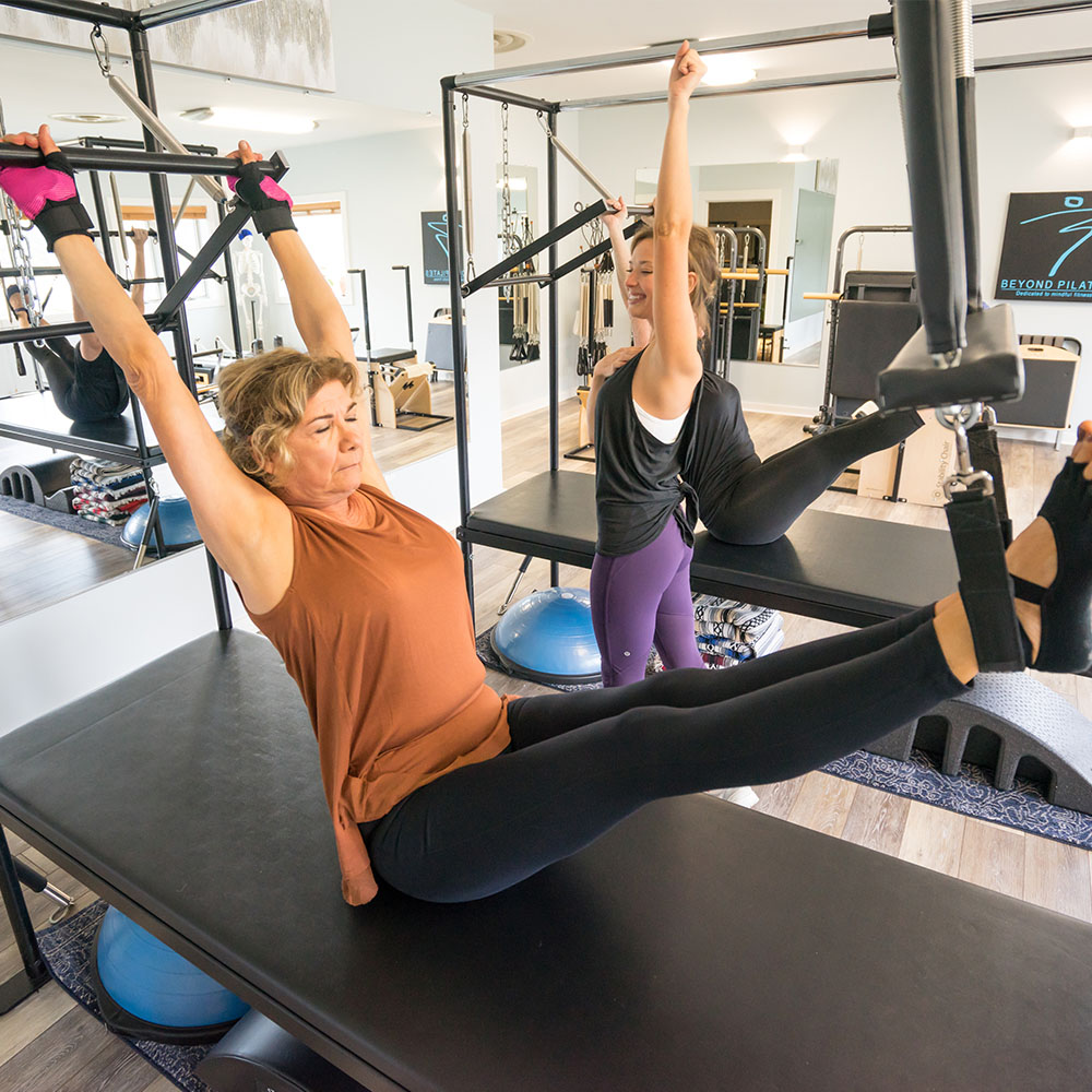 Offering Private and Semiprivate Pilates Instruction - Beyond Pilates is the only Pilates studio in the NC High Country focused on the cutting edge of movement science. We offer client-centered instruction along with complementary somatic modalities.