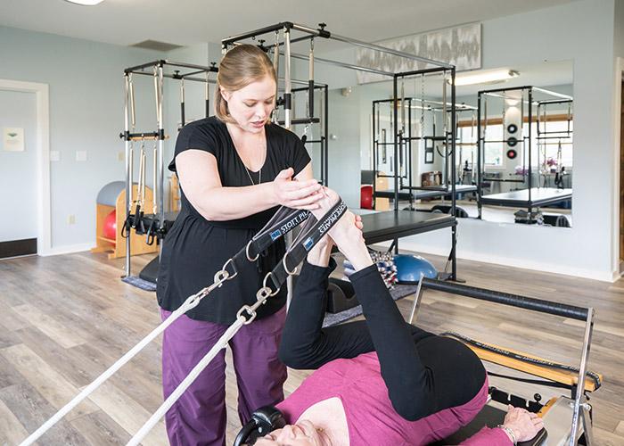 Short Spine Pilates Reformer