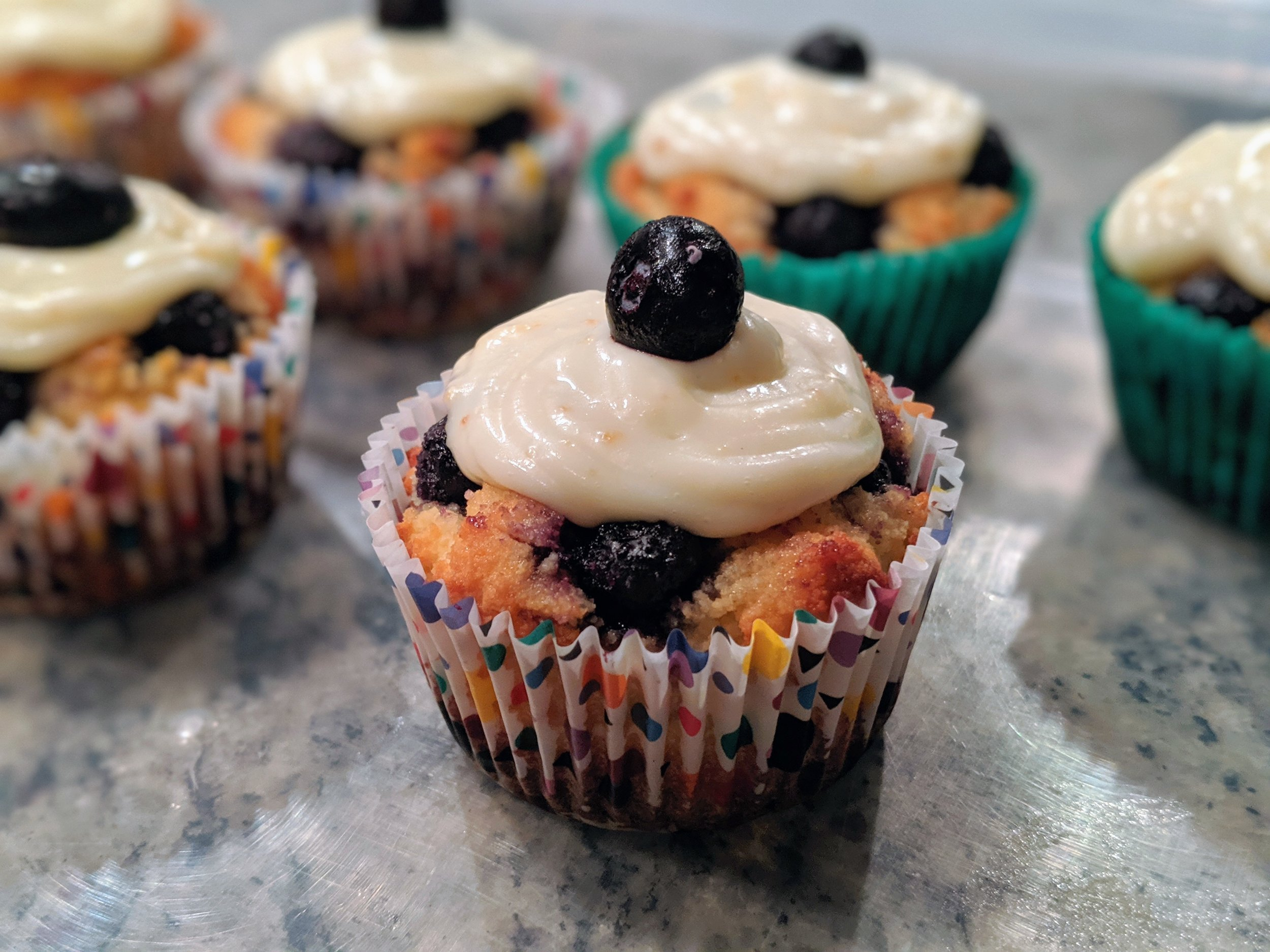 Don't feel  blue , you can now enjoy some  berry  good muffins without all the sugar!