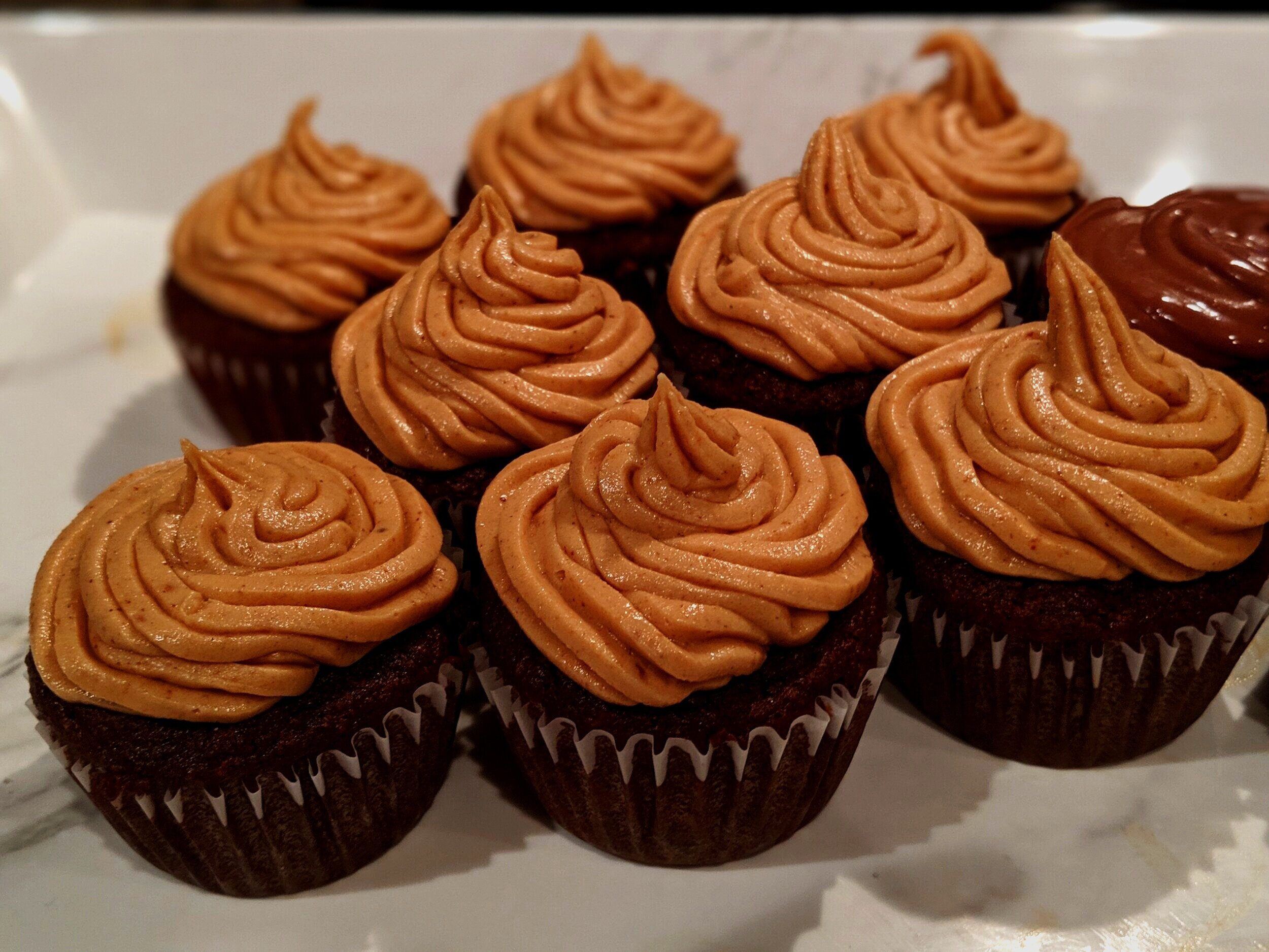 ChipMonk Baking Low Carb Keto Gluten Free Chocolate Chip Cupcakes with Peanut Butter Icing (31).jpg