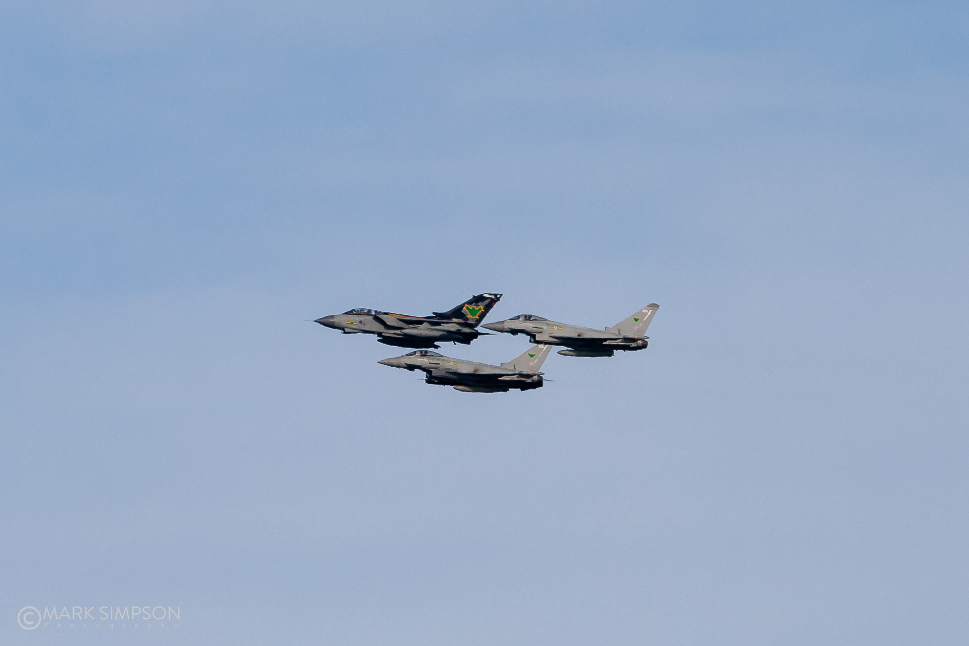The old and the new of Royal Air Force No.9 Squadron.