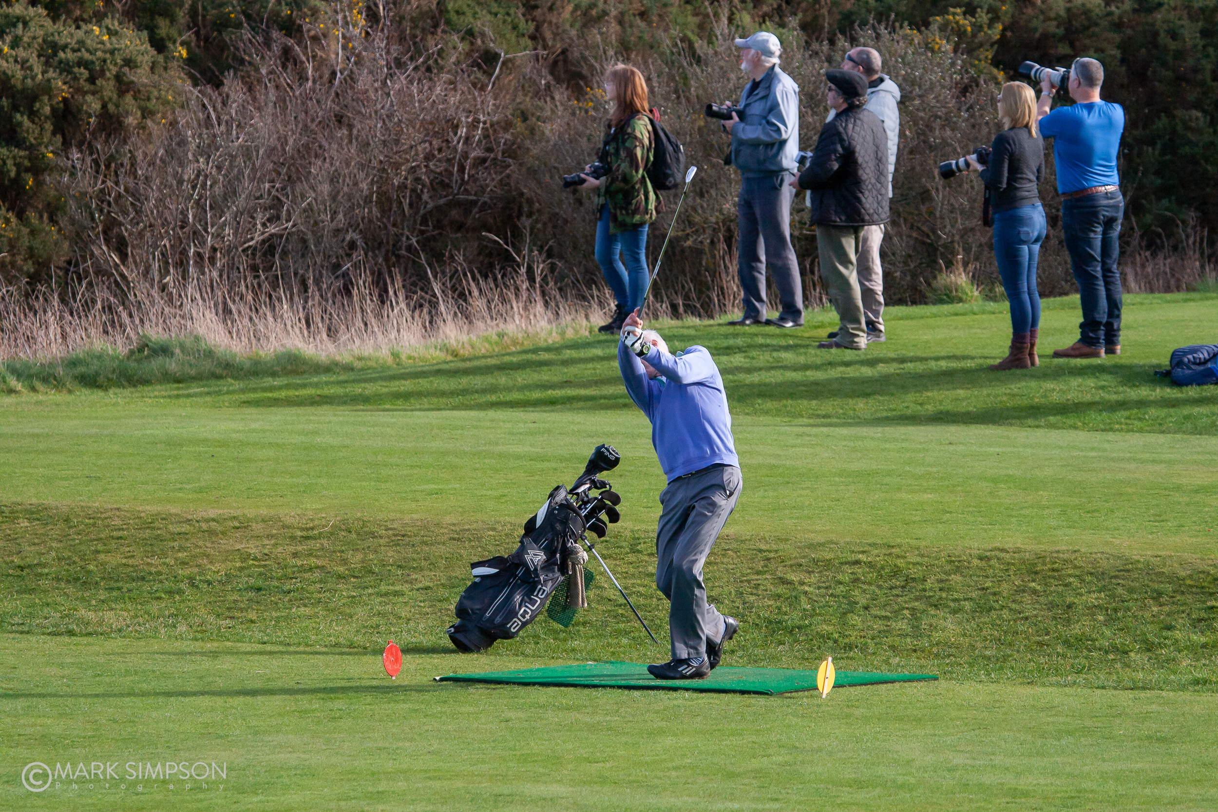 Fore! Lossiemouth Golf Course.