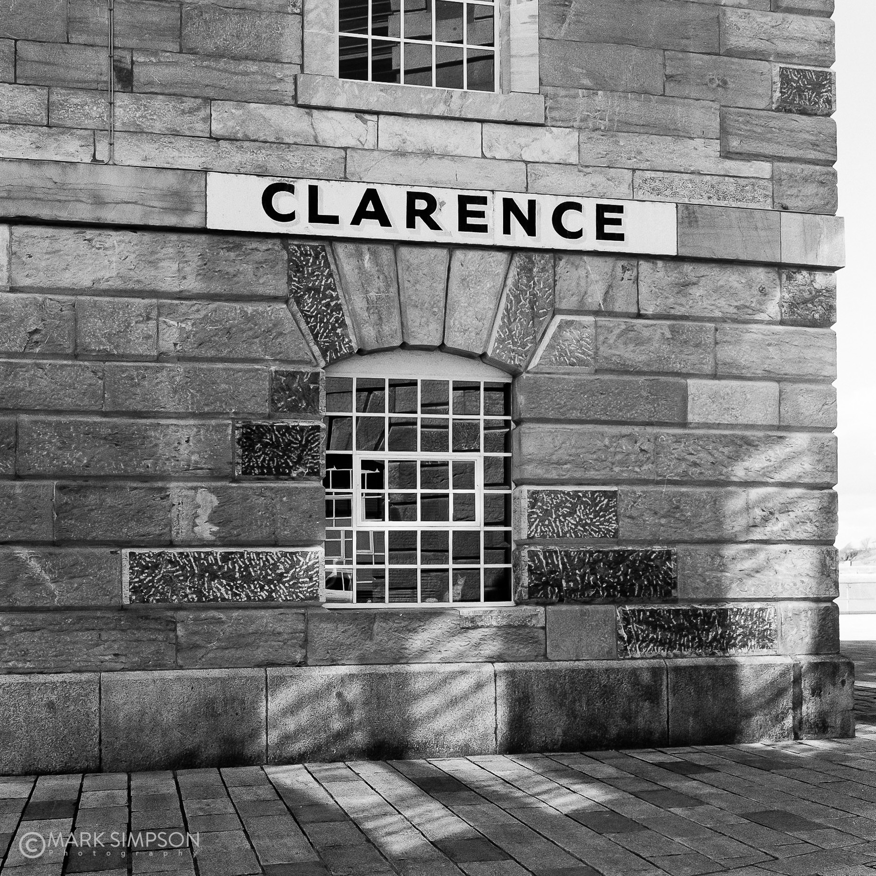 Clarence, built in 1831 as a liquid store at Royal William Yard, Plymouth, Devon. (Rolleiflex K4/50, Ilford HP5+ 400 film)