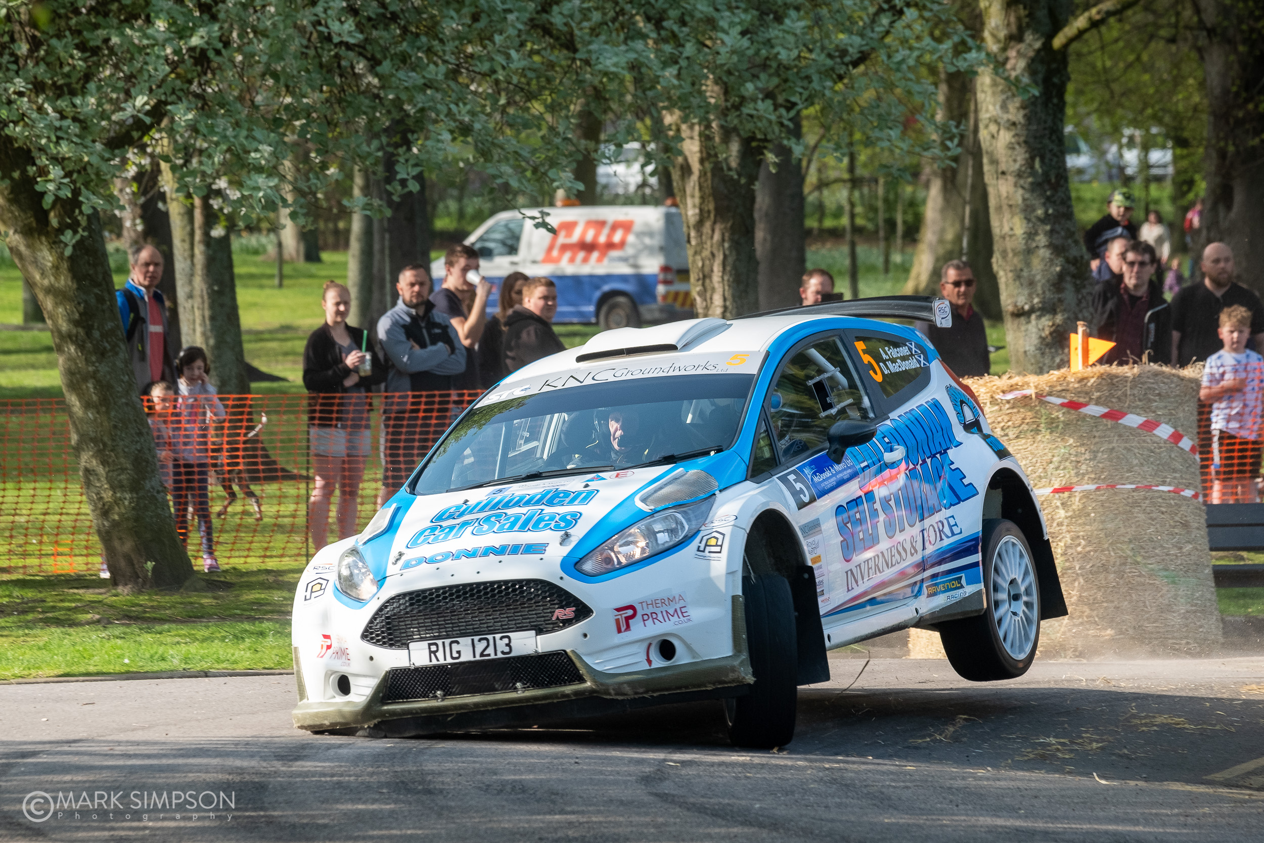 Donnie MacDonald/Andrew Falconer Ford Fiesta R5.