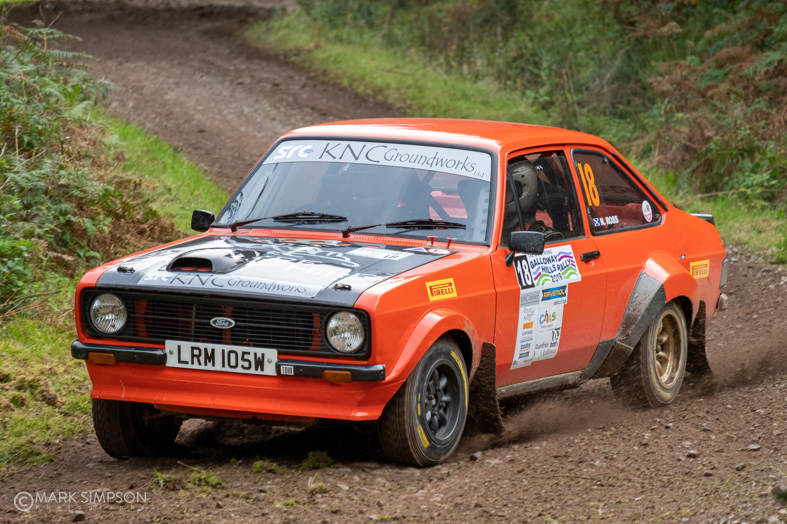 Duncan MacDonald/Neil Ross Ford Escort Mk2