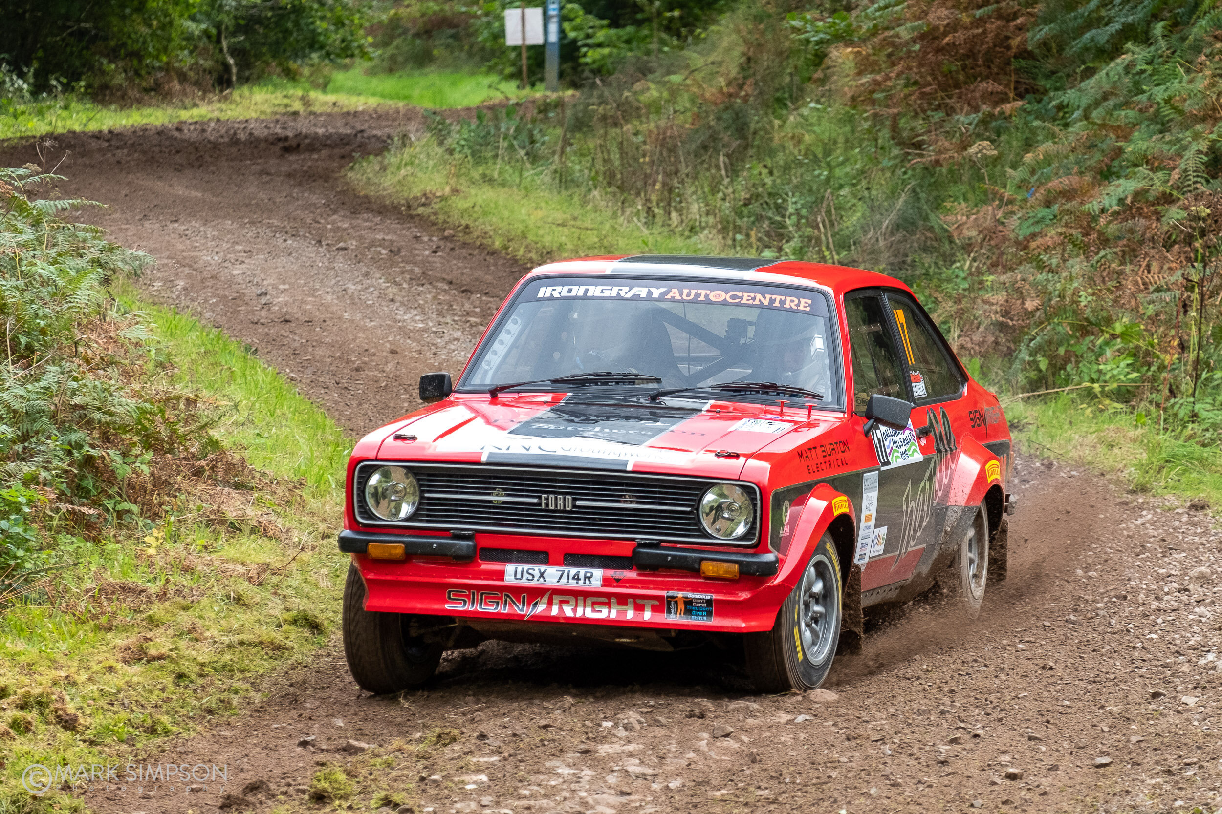 Mark McCulloch/Michael Hendry Ford Escort Mk2