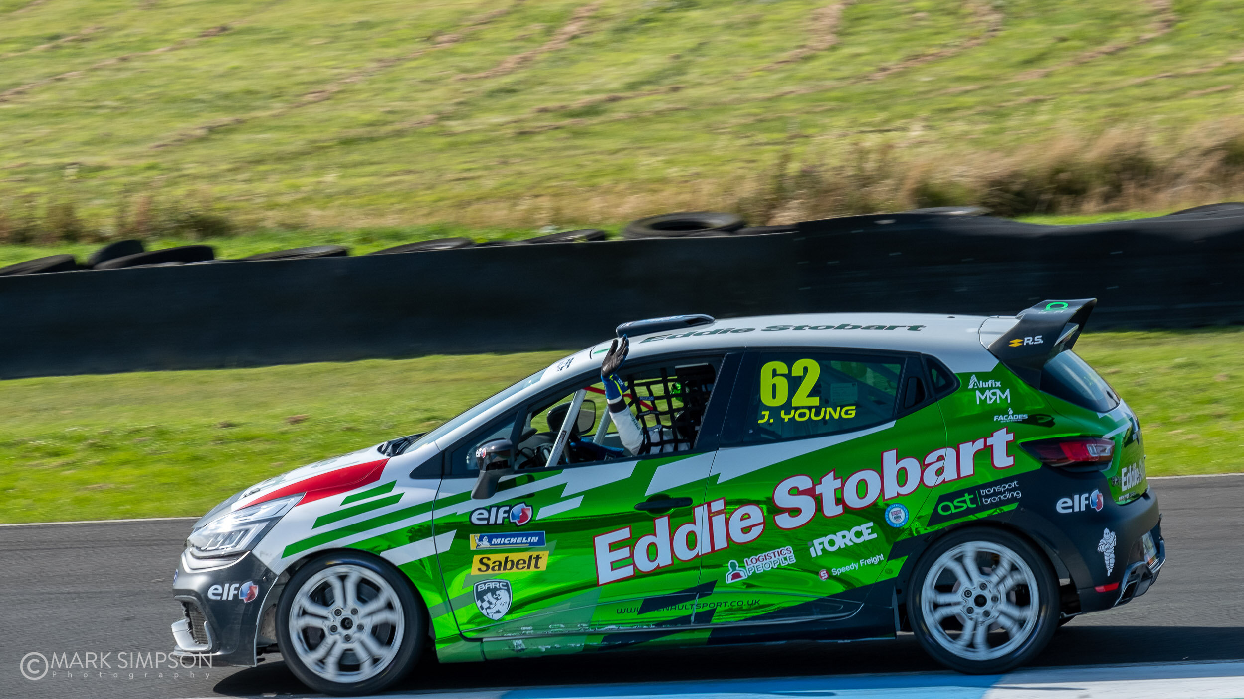 Jack Young (Renault Clio Cup RS).