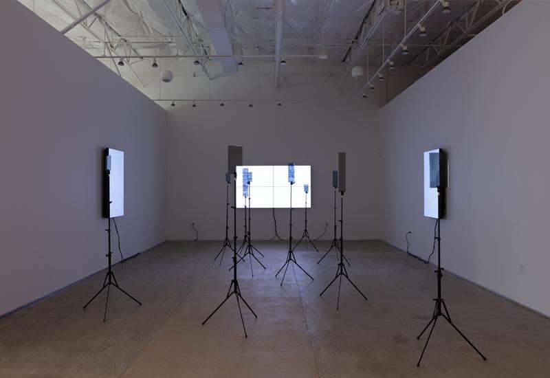 Emmanuel Van der Auwera: VideoSculpture XX (World's 6th Sense), 2019
