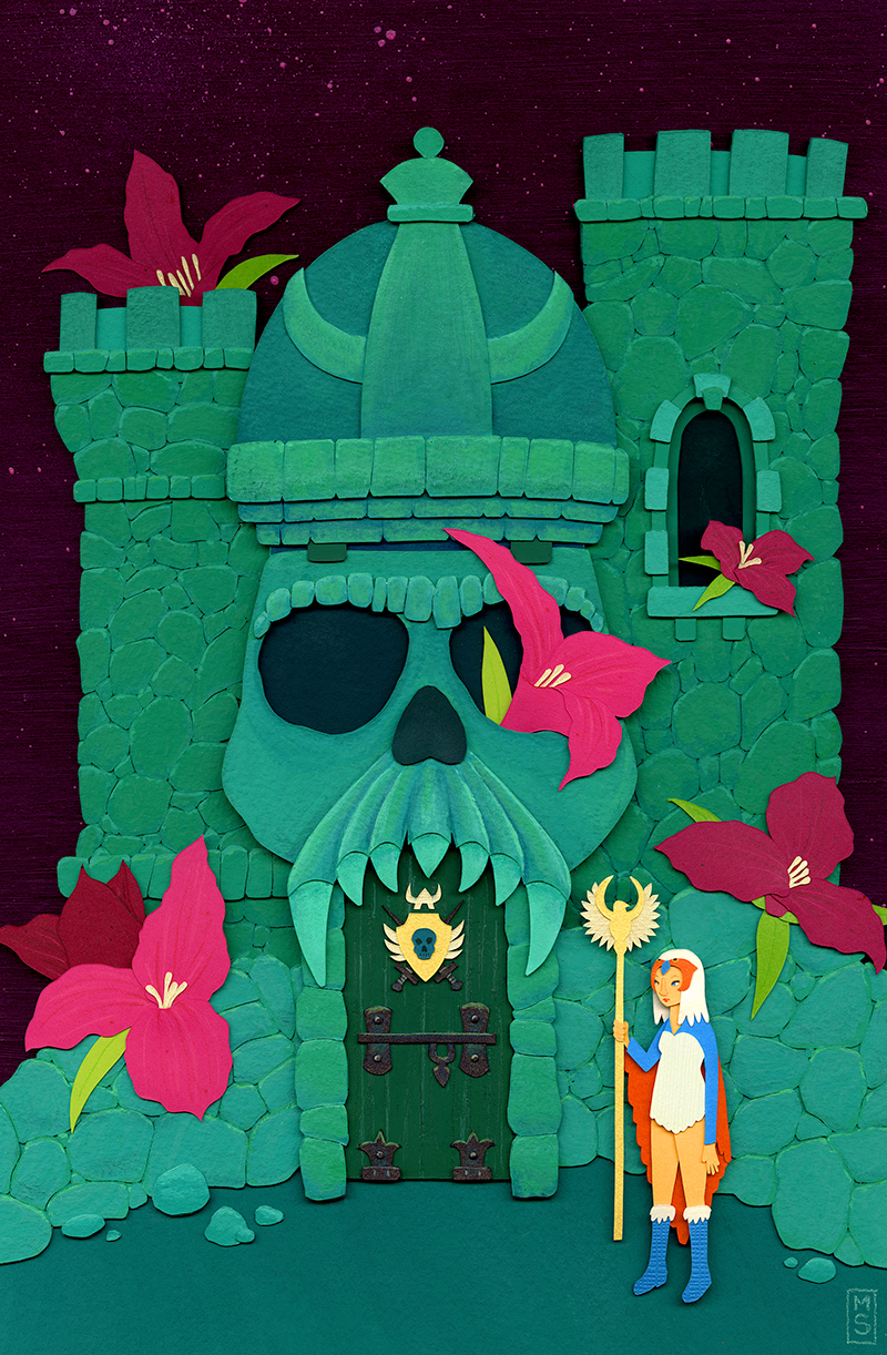 """""""The Sorceress and Castle Grayskull"""""""