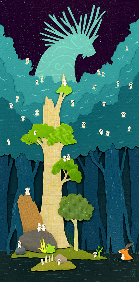 """The Forest Spirit"""