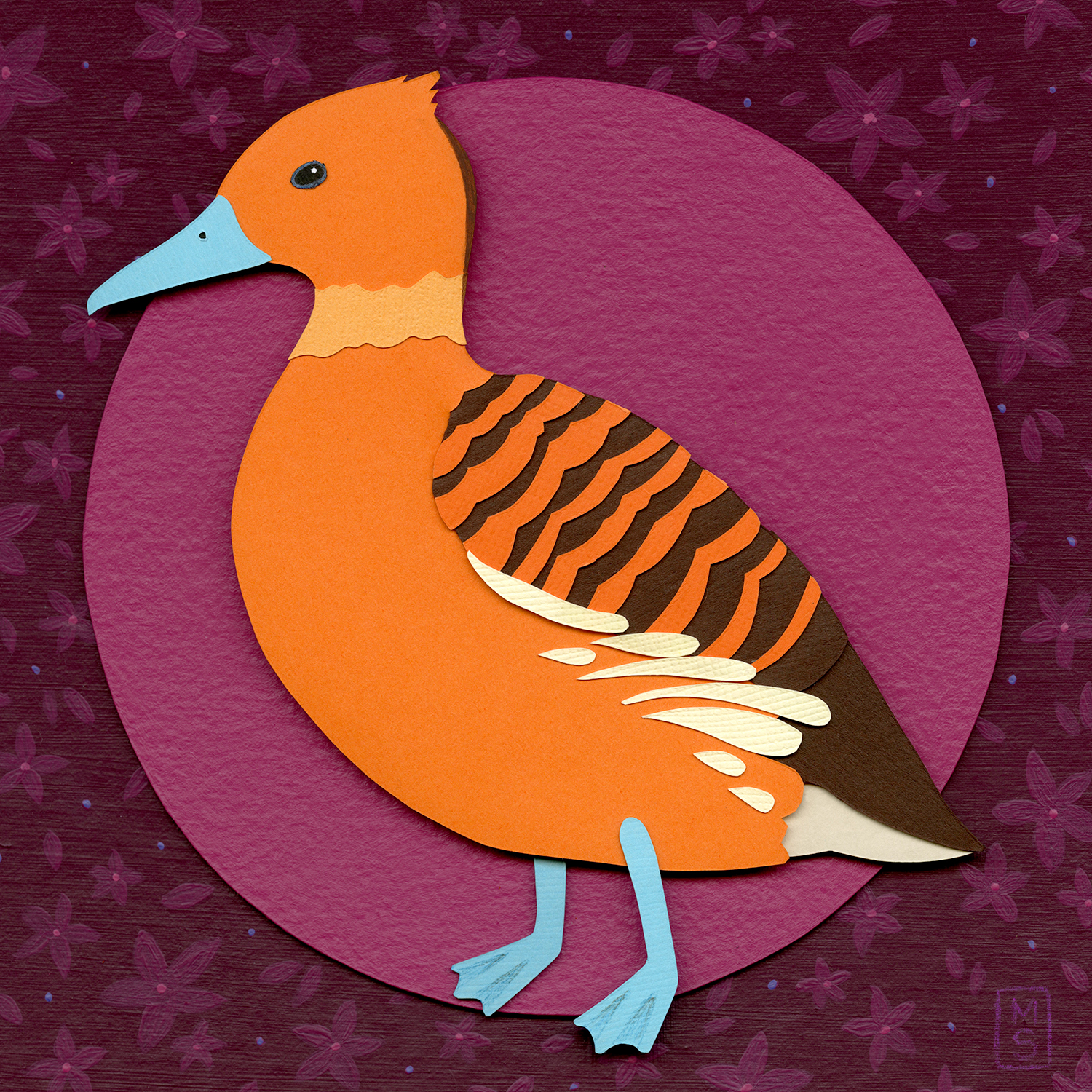 """Fulvous Whistling Duck"""