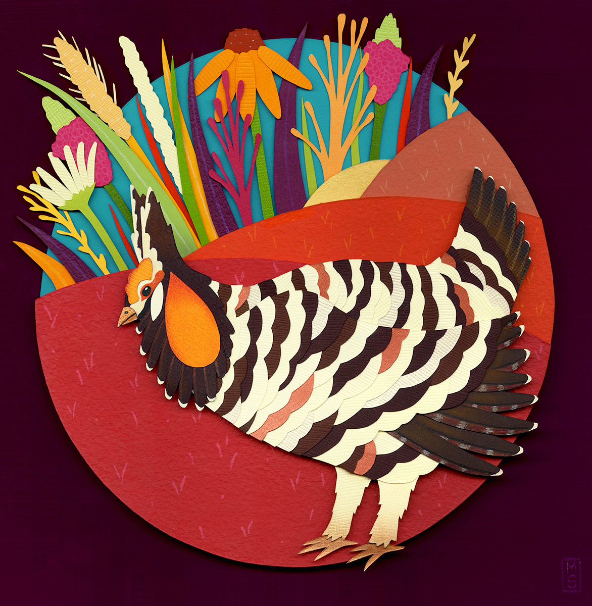 """Prairie Chicken"""