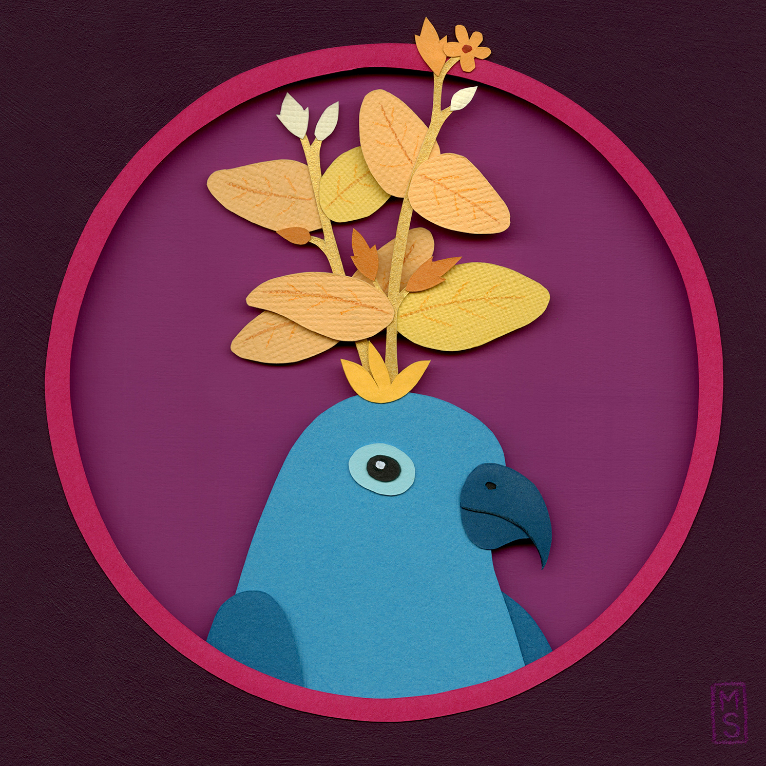 """Avis Fores (Flower Bird)"""
