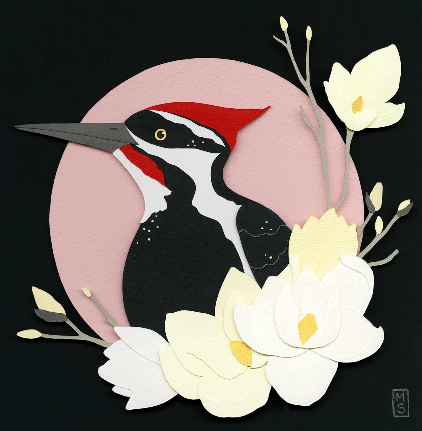 """Pileated Woodpecker"""