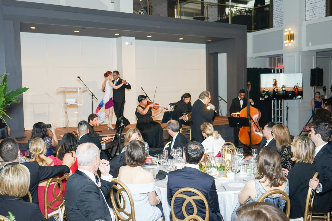 Tango - In collaboration with the Argentine Tango School we had the opportunity to perform at the Alegria Ball- Greater Philadelphia Hispanic Chamber of Commerce.