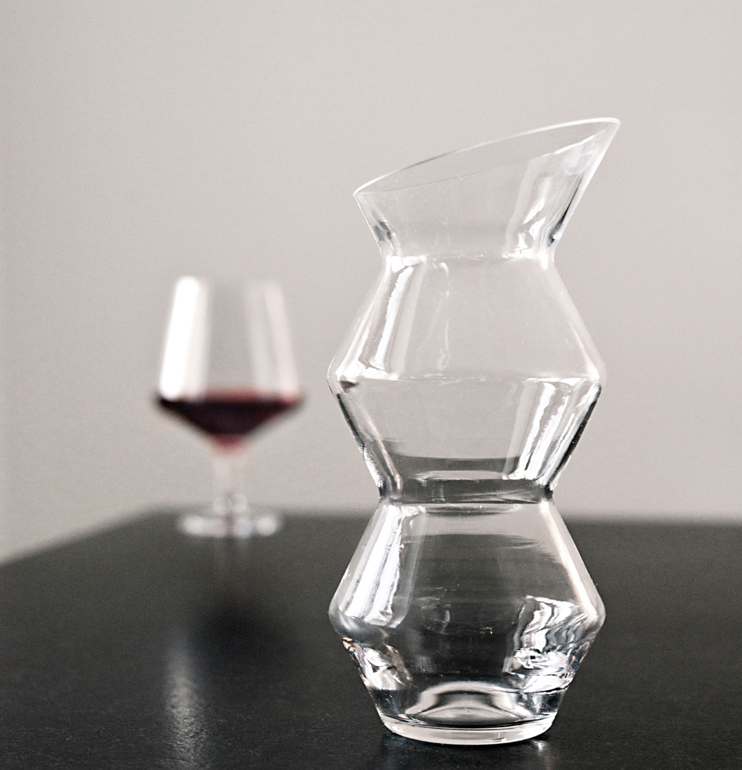 the unsung hero - because it just always feels fancier than when pouring from the bottle.