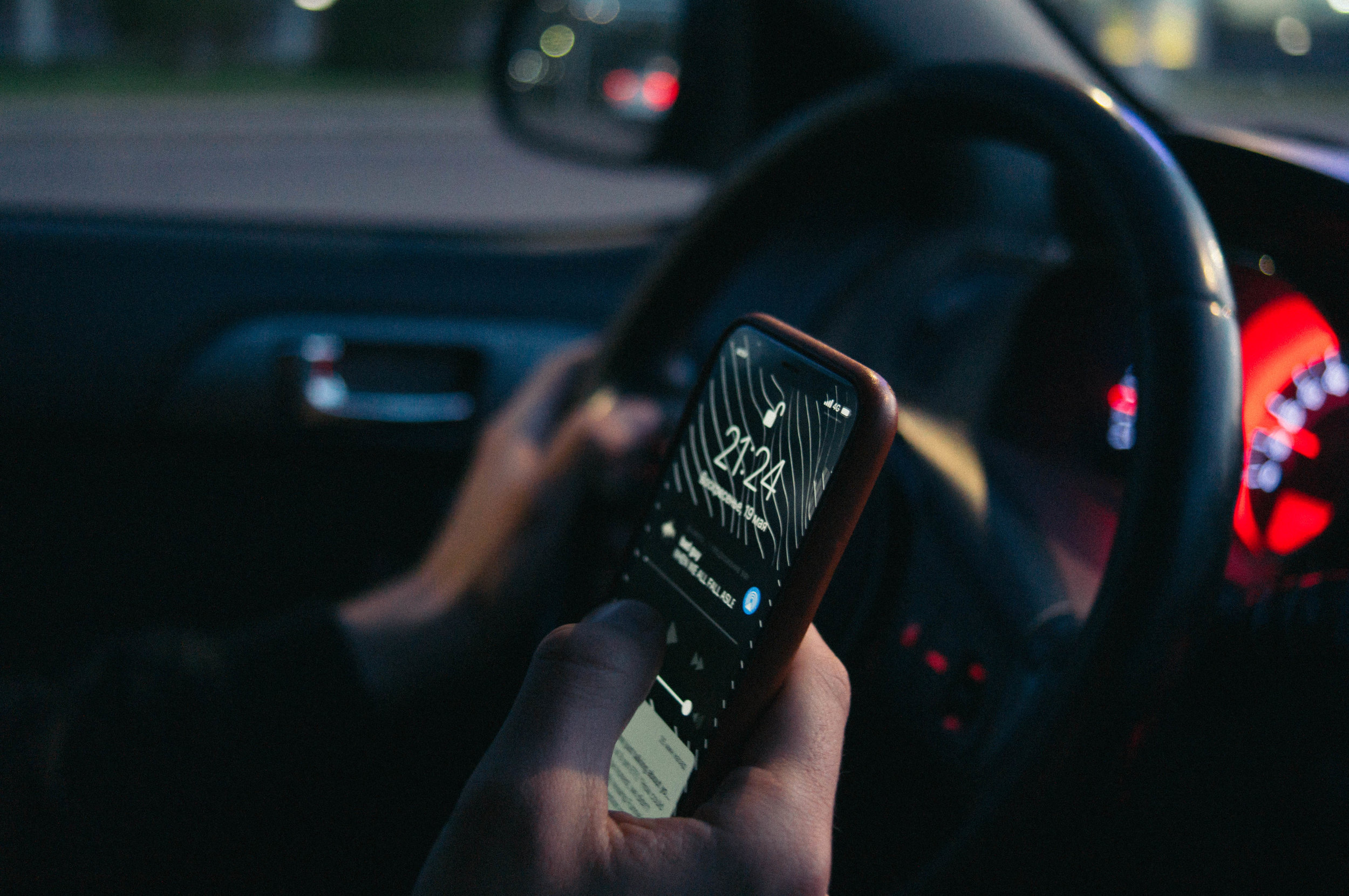 Cell phones - Please remain cell phone free. We have seen too many close-calls from people texting and talking on phones while inching forward.