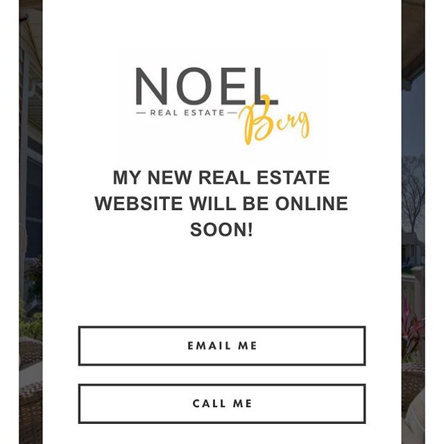 New website going LIVE today!  Rolling out at 5pm!! Www.noelberg.com