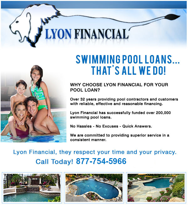 Pool Financing — Trusted Pool & Spa: Swimming Pool Design | Build ...