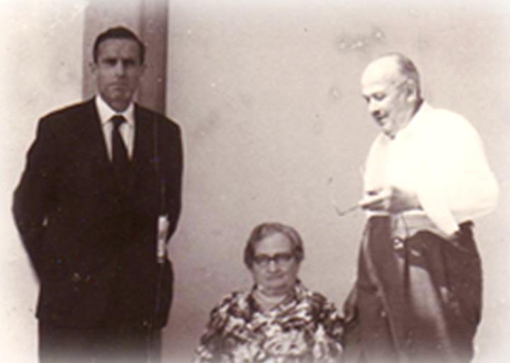 Great Grandfather Pietro Sr. and grandfather Pietro Jr. ( circa 1932 )