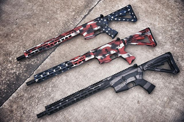 Our Freedom Sale Starts now!!!!! Any project that involves an American Flag is 17.76% off! Sale ends July 7th! #cerakote #cerakotethatshit #myshitscustom #cerakotecertified #gunsdaily #freedom #4thofjuly #4thofjulysale #ar15
