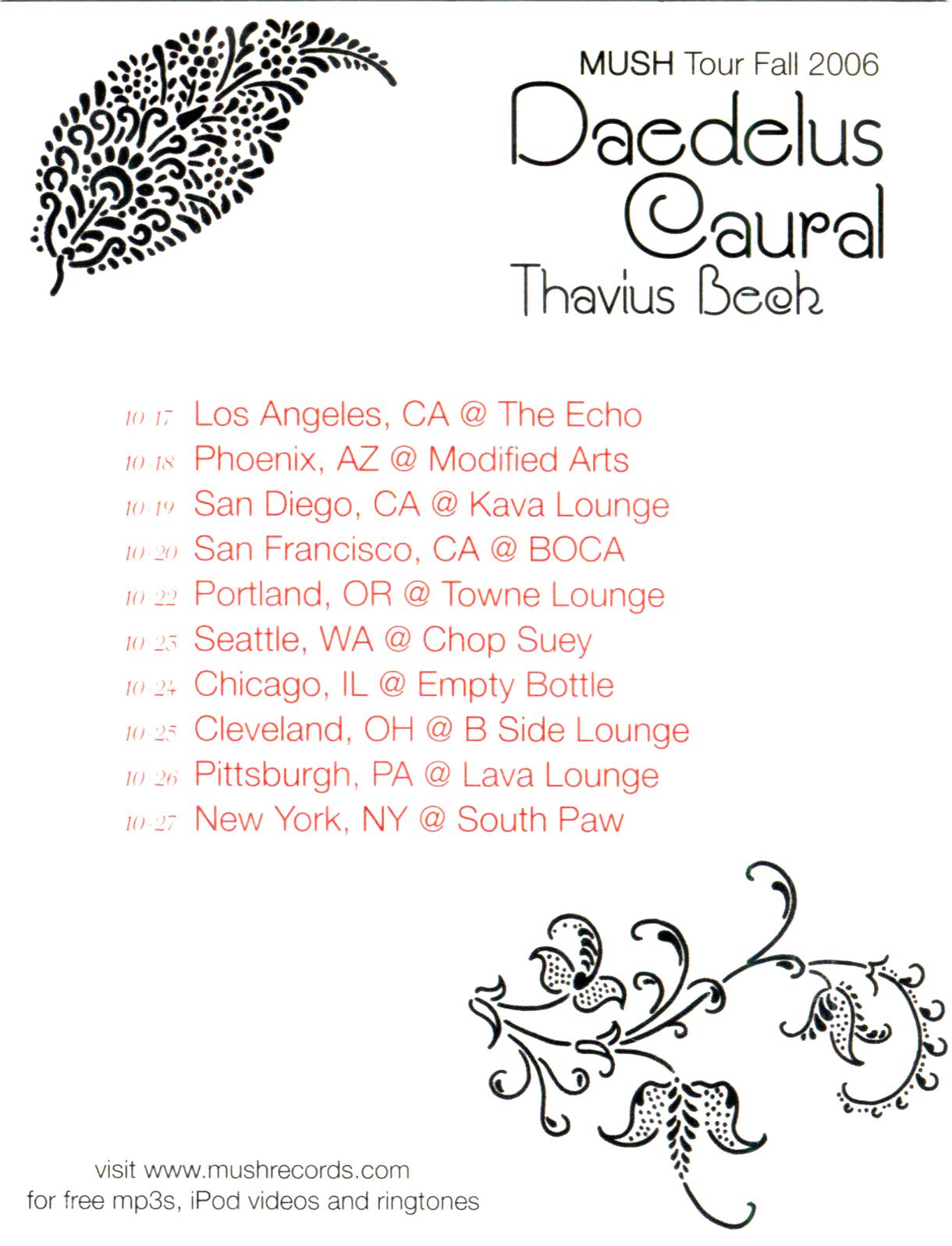 2006 Mush Tour Flyer - Back.jpg